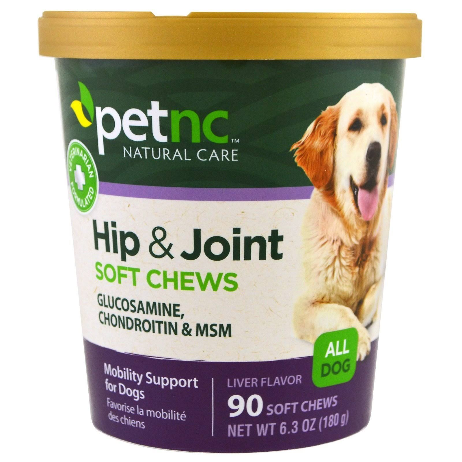 PetNC Natural Care Hip and Joint Dog Chews - 90 Soft Chews