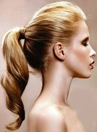 Long Vintage Ponytail 2017 Beehive Updo Hairstyle