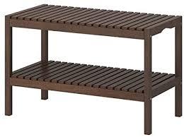 ikea molger bench in brown de küche haushalt