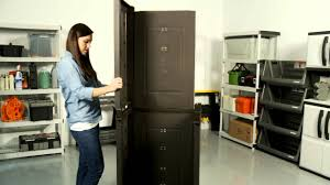 Sterilite 4 Shelf Cabinet Home Depot by Keter U0027s Rattan Style Utility Cabinet Assembly Video Youtube