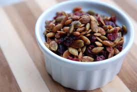Are Pumpkin Seeds Called Pepitas by Thyme Infused Toasted Pumpkin Seeds And Cranberries The Taste Space