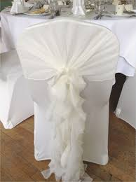 Ruffled Chair Seat Cover Best Of Great White Covers Wedding Image
