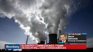100 Sefcovic EUs Regrettable To Lose US As Climate Ally Bloomberg