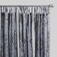 Smocked Burlap Curtain Panels by Blue Striped Sahaj Jute Curtains Set Of 2 World Market