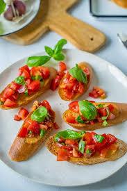bruschetta einfach lecker perfekt zum selbermachen für