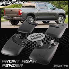 4pc For 2005-2015 Toyota Tacoma Mud Flaps Mud Guards Splash Guards ... Splash Guards On 2015 Mud Flaps F150online Forums Dsi Automotive Truck Hdware Gatorback Ford 67l Ram Horizontal For Silverado 2014 2016 Molded Front Set Airhawk Accsories Inc Dee Zee Universal Autoaccsoriesgaragecom F250 Lifted With Duraflap Lft Bracket And Mud Flap Clearance Mudflaps To Protect Your Trailer From Truck Oval With Black Wrap Text Sharptruckcom Photo Gallery Bed Tool Boxes Unique Diamond Plate Alinum