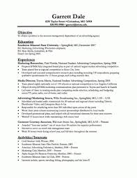 Basic Resume Objective Examples 5