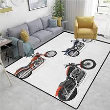 de yucouhome teppich für motorrad zuhause