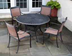 Cast Aluminum Patio Furniture With Sunbrella Cushions by A Guide To Cast Aluminum Outdoor Furniture Patioproductions Com