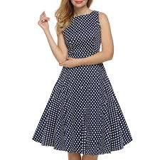 online get cheap blue white polka dot dress aliexpress com