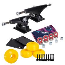 100 Parts Of A Skateboard Truck Cal 7 Package Combo With 5 Inch S 52mm 99 Wheels