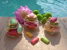 petit pot pour dragees dragées de la table décoration mariage la cigale bleue