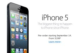 iPhone 5 Release Date and Price Announced