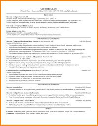 Archaeology Resume Examples Sample Art History 7 8