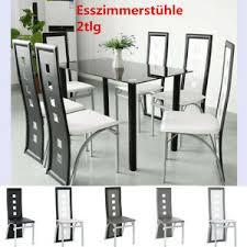 details zu 2tlg esszimmerstühle essstühle 2 stühle set küche esszimmer stuhl 6 farben stuhl
