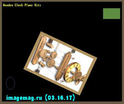 wooden clock plans kits 100914 the best image search 10331603