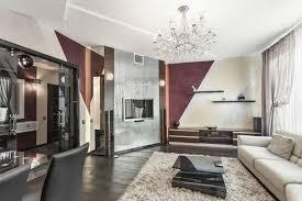 wohnzimmerwände mit farbe gestalten schräge streifen mit 3