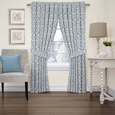 Waverly Fabric Curtain Panels by Waverly Donnington Rod Pocket Curtain Panel Jcpenney