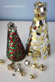 Sequin Trees By Sweetcsdesigns Are An Easy Craft You Can Make