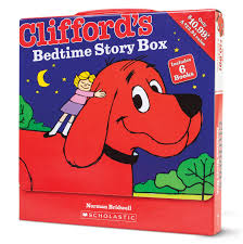 Clifford Halloween Book by Clifford U0027s Bedtime Story Box Scholastic 9780545615211 Amazon