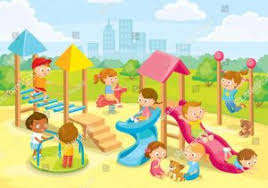 Playing Playground Clipart Collection School Clip Funny Children Jpg