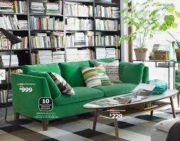 Ikea Green Velvet Sofa