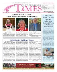 Toms River Halloween Parade History by 2016 10 29 The Toms River Times By Micromedia Publications Issuu