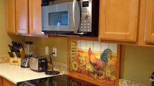 Image Of Sunflower Wall Decor For Kitchen