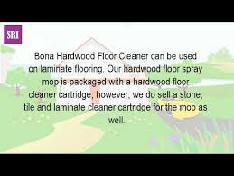 Bona Polish For Laminate Floors by Can You Use Bona Hardwood Floor On Laminate Floors Youtube