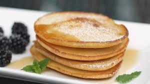 mini pfannkuchen oder pancakes