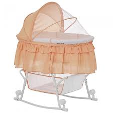 Lacy Portable 2 in 1 Bassinet & Cradle