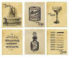 Vintage Mickey Bathroom Decor by Bathroom Prints Ebay
