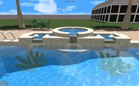 Waterline Pool Tile Designs by Playing With Textures Support Structure Studios