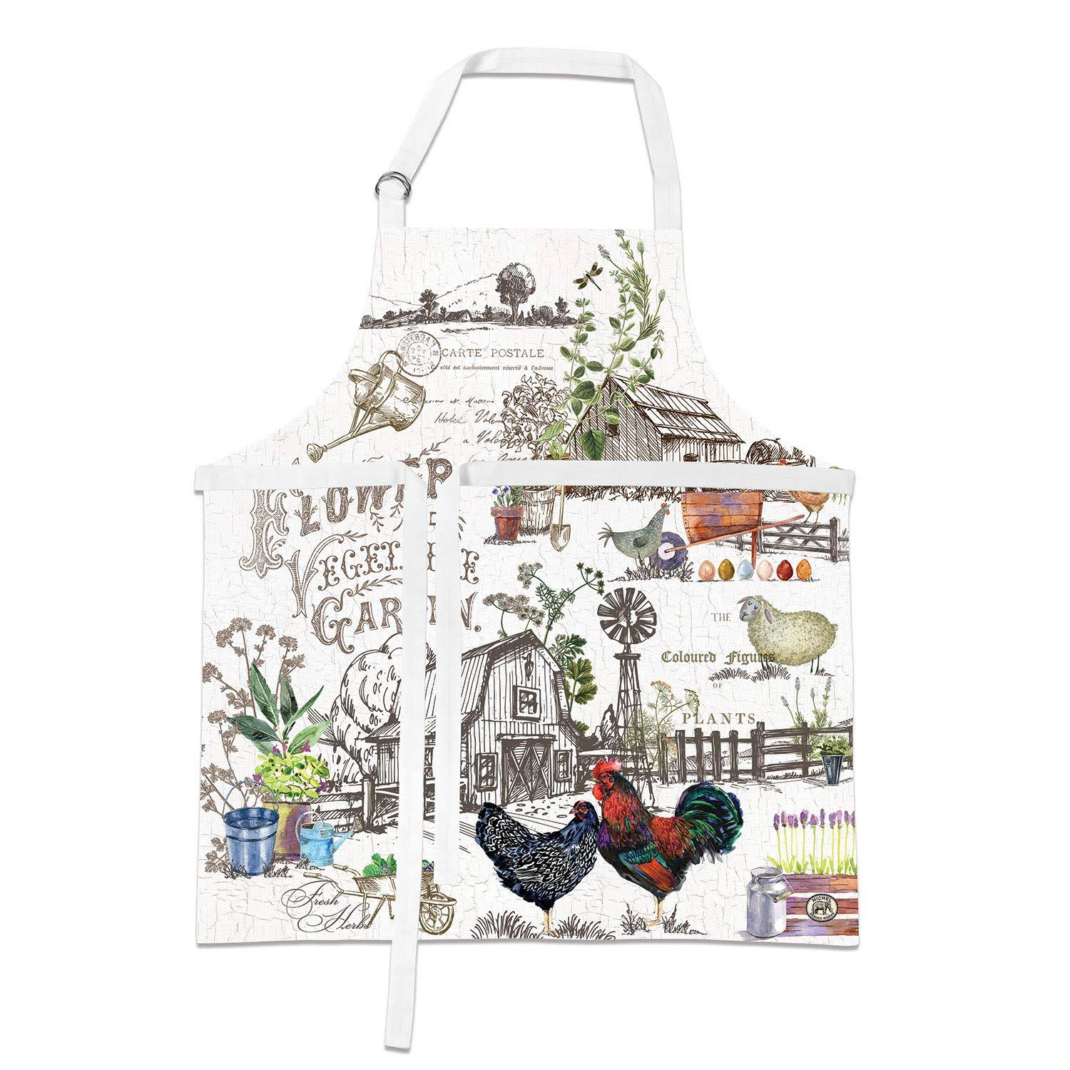 Michel Design Works Apron, Country Life