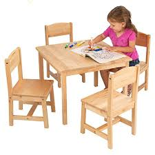 Child Table And Chair Set & Childs Table And Chairs Wooden Table ...