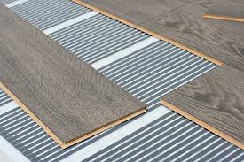 chic laminate flooring over radiant heat how to install radiant