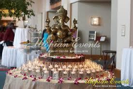 Wedding Decor Entrance Table Ganesh Traditional Indian Elephant