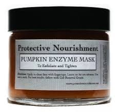 Pumpkin Enzyme Mask by There Is A Great Pumpkin In Protective Nourishment Products