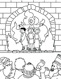 Fiery Furnace Clipart Coloring Page Preschool To Humorous The
