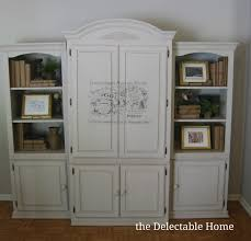 The Delectable Home: Chalk Paint Armoire Rustic Carved Armoiremedia Cabinet To Be Beautiful And Country Aspen Home Knotty Pine Armoire Upscale Consignment For Shoes Amish Petite Computer Desk Jewelry Box Mirror 20 Ideas Of Ikea Wardrobe Wardrobe Drawers Upcycled Using 2 Coats Wood Primer Secretary Design Plus Gallery Mirrored Organizer Tall Stand Up Eertainment Ebth Enclosures Mack Wallbed Unique Antique