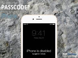How To Unlock iOS 7 8 9 10 11 iPhone If You Forgot Your Passcode