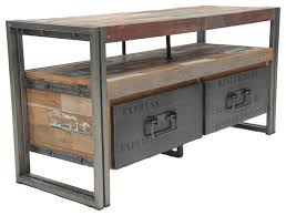 30 Images Of Industrial Style Tv Cabinet Astound Reclaimed Wood Iron Rustic Media Center TV Stand Home Design Ideas 0