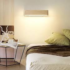 martll wandleuchte led wandle innen holz wandbeleuchtung 360 drehbare wandlicht für wohnzimmer schlafzimmer treppenhaus flur warmweiß