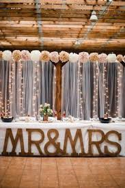 Such A Cute Country DIY Backdrop For Rustic Wedding
