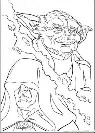 Star Wars Yoda Coloring Pages
