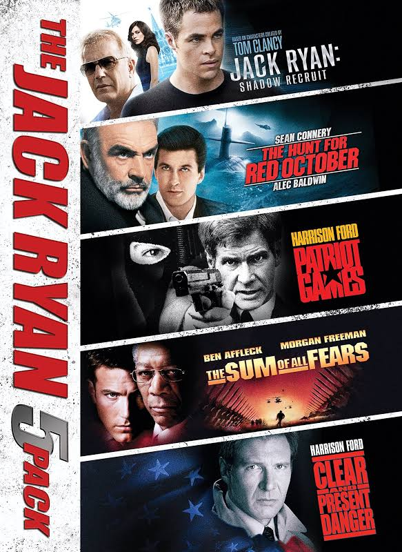 The Jack Ryan 5-Pack - DVD