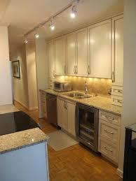 luxury design galley kitchen track lighting best 25 ideas on