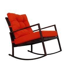 Amazon.com : Kinbor Rattan Rocker Chair Outdoor Garden Rocking Chair ... Decorating Pink Rocking Chair Cushions Outdoor Seat Covers Wicker Empty Decoration In Patio Deck Vintage 60 Awesome Farmhouse Porch Rocking Chairs Decoration 16 Decorations Wonderful Design Of Lowes Sets For Cozy Awesome Farmhouse Porch Chairs Home Amazoncom Peach Tree Garden Rockier Smart And Creative Front Ideas Amazi Island Diy Decks Small Table Lawn Beautiful Cheap Best Beige Folding Foldable Rocker Armrest