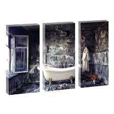 3 bilder je 40 80 cm badezimmer leinwand kunstdruck poster