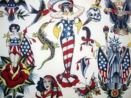 Vintage Tattoo Flash Art 38